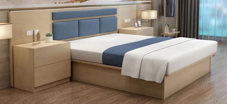 板式双人床